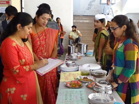 Janardan Bhagat Shikshan Prasarak Sanstha's Food Fest 2019 at Bhagubai Changu Thakur College of Law