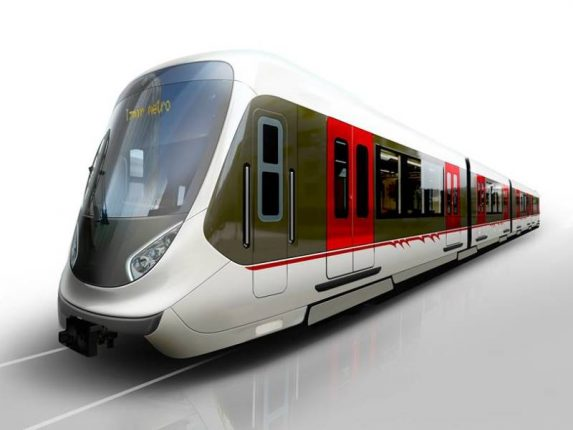 Partially assembled metro trains arrive from China to reach Taloja shortly