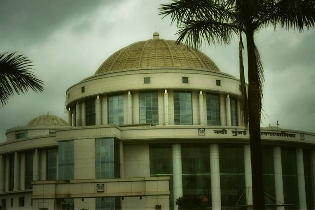 NMMC declares it's premises as 'Campus with Helmet'