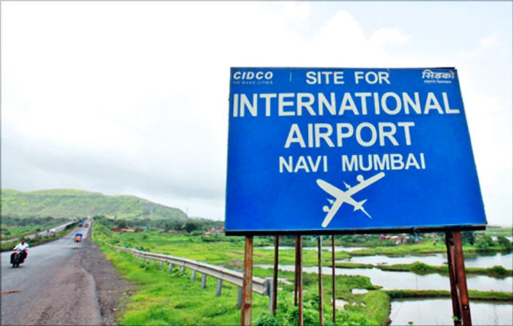 CIDCO demolishes illegal chawls built on core airport area in Panvel
