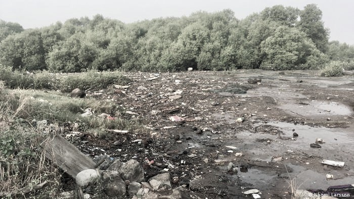 Uran's Panje wetlands once again under debris