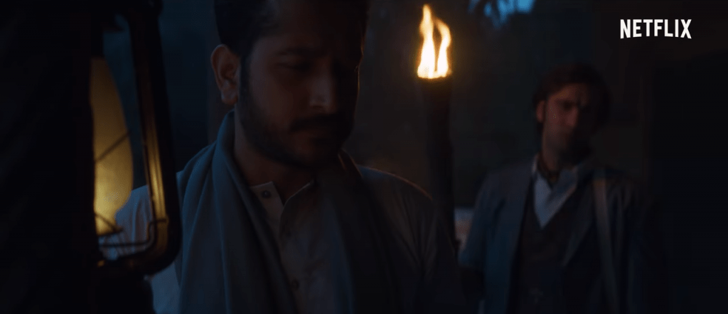 Parambrata Chattopadhyay in a still from the movie Bulbbul by Netflix