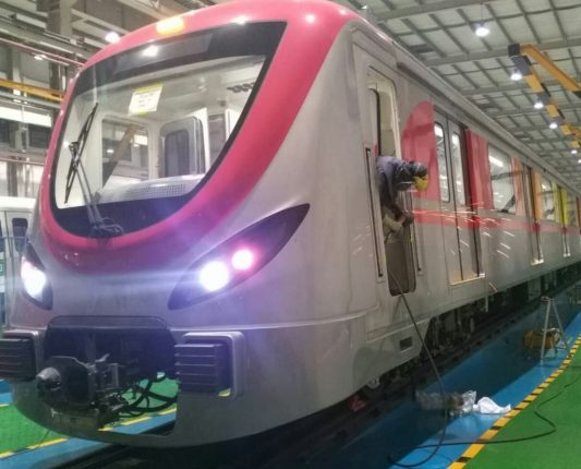 Final 8 train sets for Navi Mumbai Metro Phase-1 delivered to CIDCO