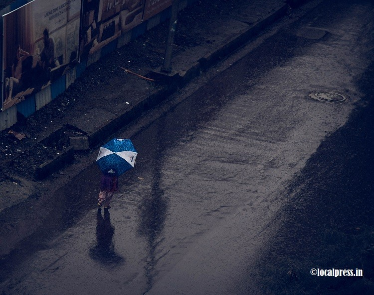 Navi Mumbai gets another spell of rains and thunder