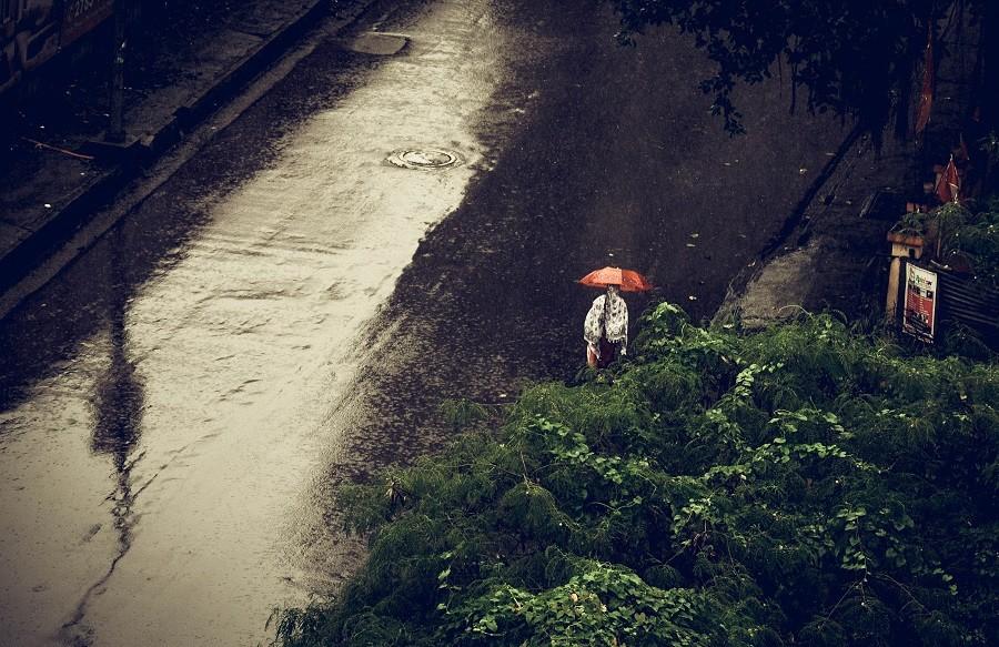 Kharghar receives a new spell of rains