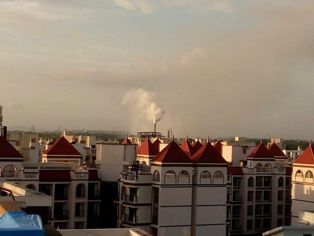 Kharghar and Taloja battle with pollution again, thanks to Taloja industries