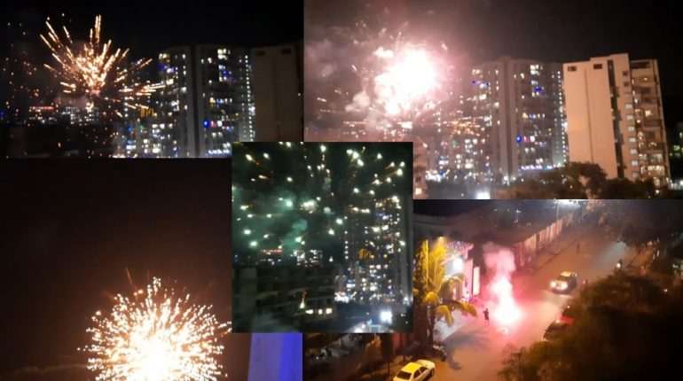 It was Diwali like always: Navi Mumbai citizens gave covid-19 fears a break