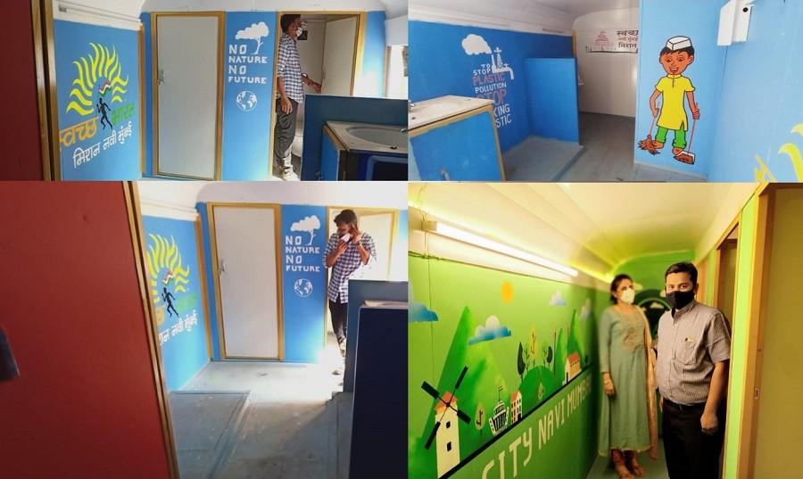 Next stop: NMMC's Upcycled Art Toilet Bus