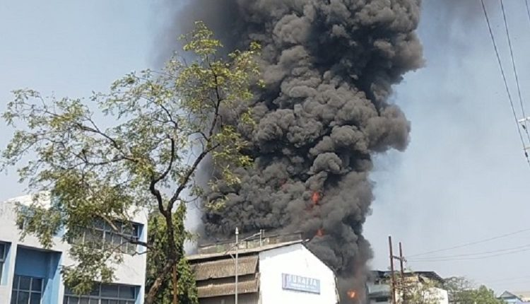 Major fire at Taloja MIDC chemical unit engulfs three units, doused after 7 hours