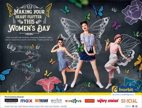 Calling all Butterflies this Women's Day: Inorbit, Vashi