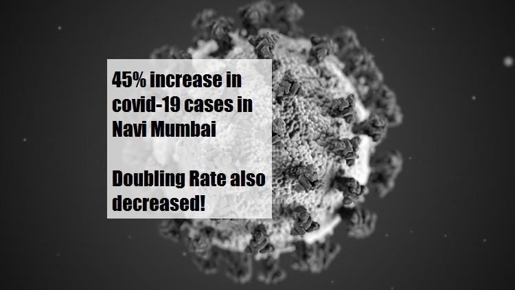 Navi Mumbai sees a 45% jump in Covid cases