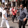 Kharghar business owners go the 'Gandhigiri' way to protest against the 'Mini lockdown'