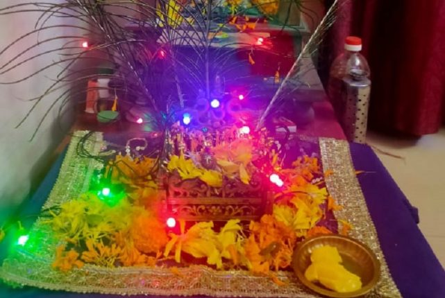 Navi Mumbai celebrates Janmashtami at home