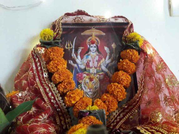 Navi Mumbai citizens are celebrating Navratri humbly this year too