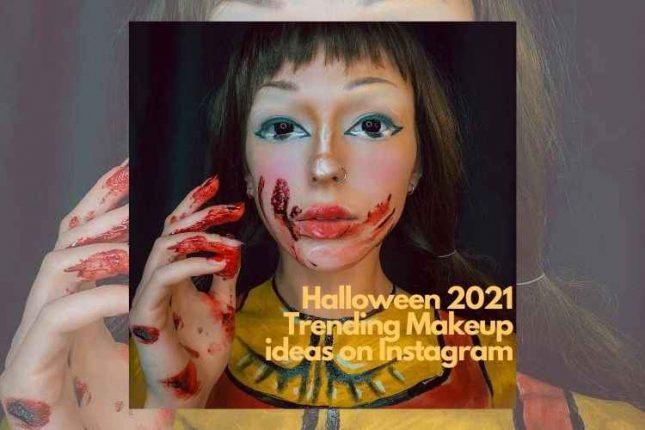 Halloween 2021: Trending & Inspiring Makeup Ideas on Instagram