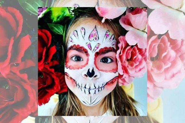Trendy Halloween 2021 Makeup Ideas for Children on Instagram