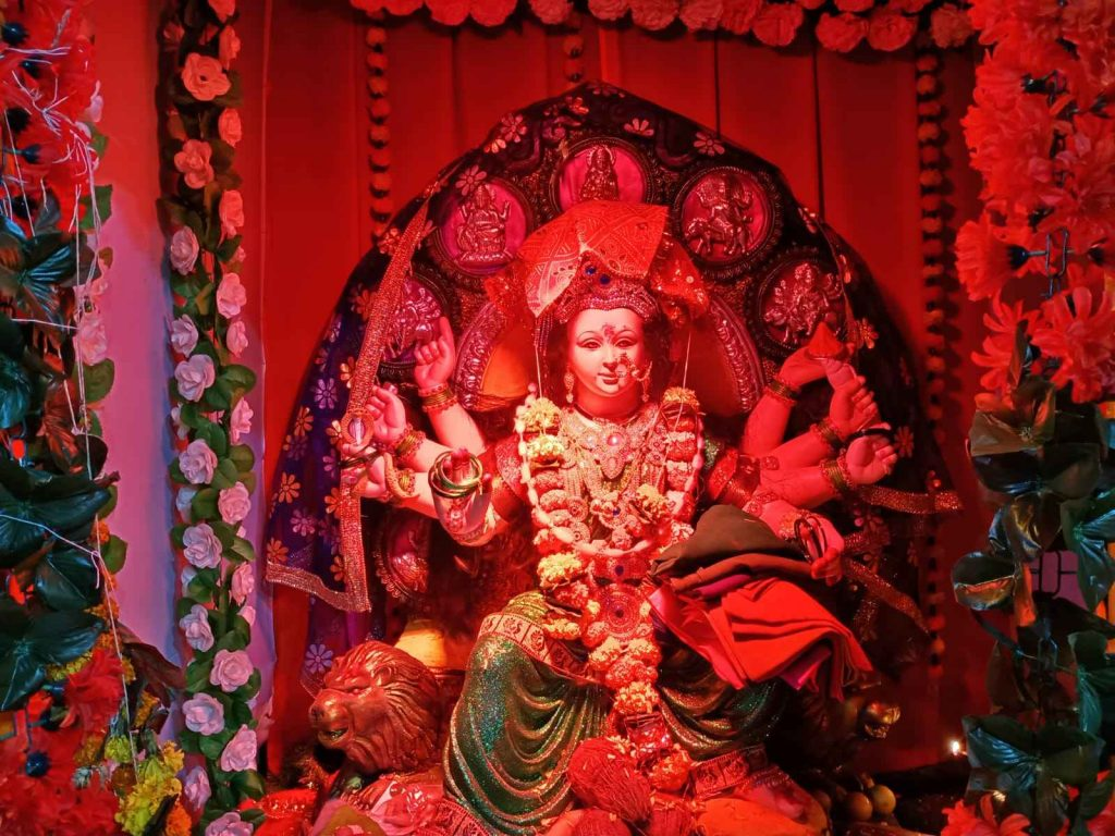 Glimpse of Navratri celebrations in Navi Mumbai 2021 - Kranti Jyoti Mahila Mandal and Omkar Mitra Mandal, Turbhe