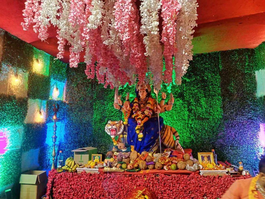 Glimpse of Navratri celebrations in Navi Mumbai 2021 - Shree Ram Mitra Mandal, Ulwe