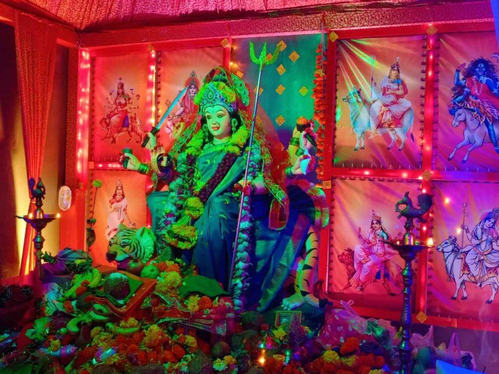 Glimpse of Navratri celebrations in Navi Mumbai 2021 - shiv sangharsh pratisthan ulwe
