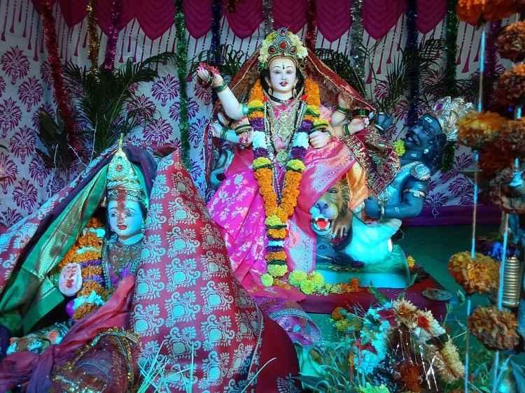 Glimpse of Navratri celebrations in Navi Mumbai 2021 - ganesh mandir sector 35-I kharghar